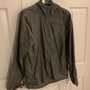 Patagonia Houdini jacket men's medium grey
